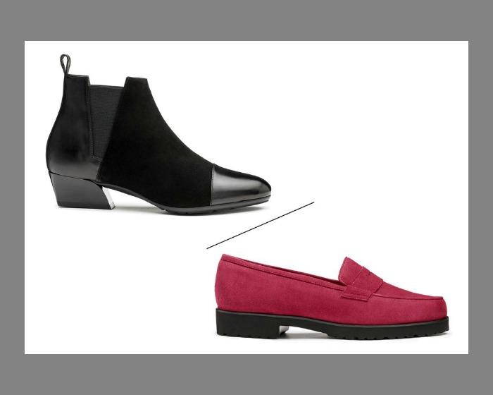 Pas de Rouge, le calzature