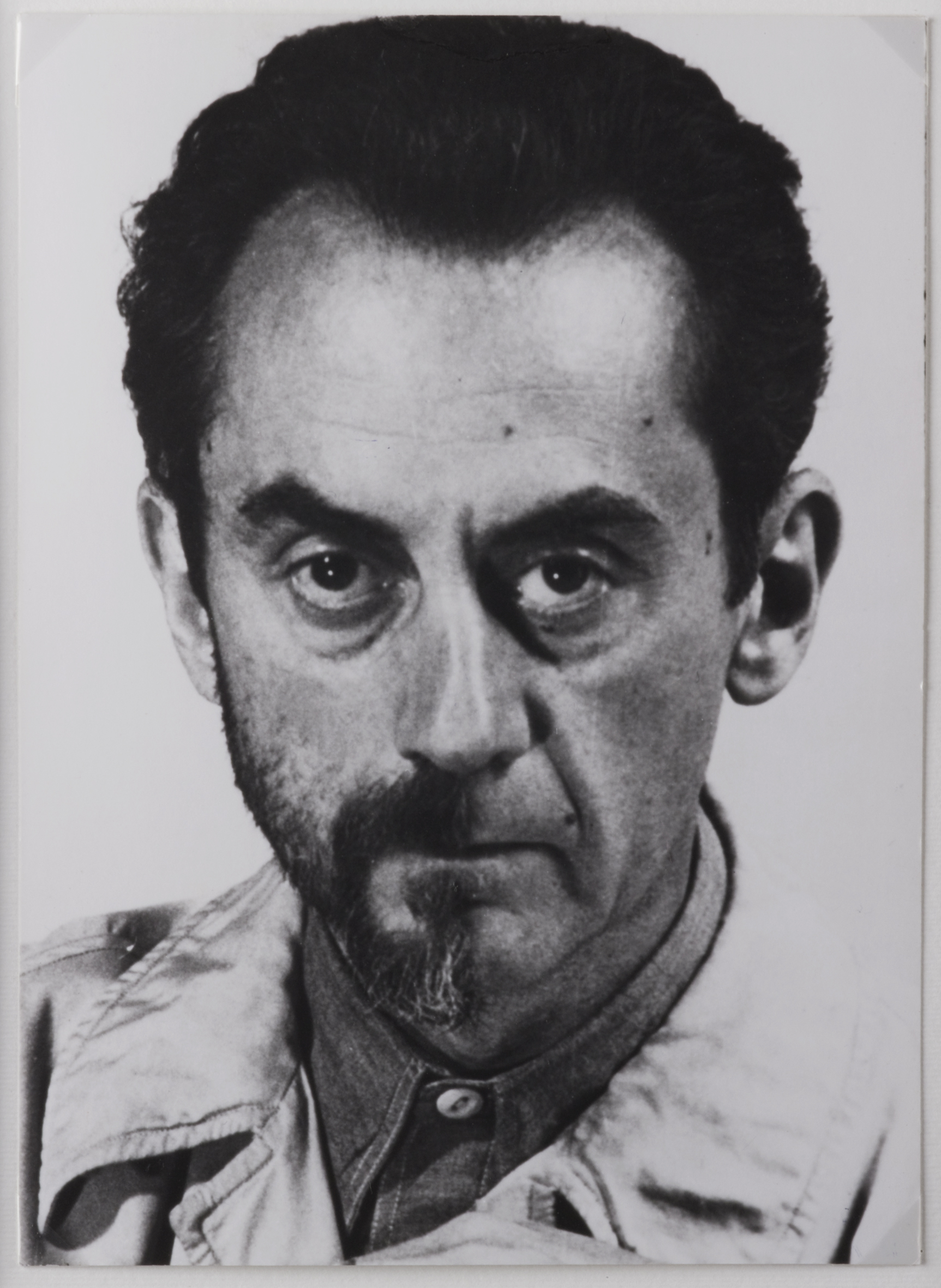 Autoritratto, 1943, fotografia later print del 1972, 18 x 12,8 cm, collezione privata, Courtesy Fondazione Marconi, -®MAN RAY TRUST _ ADAGP, Paris, By SIAE 2014