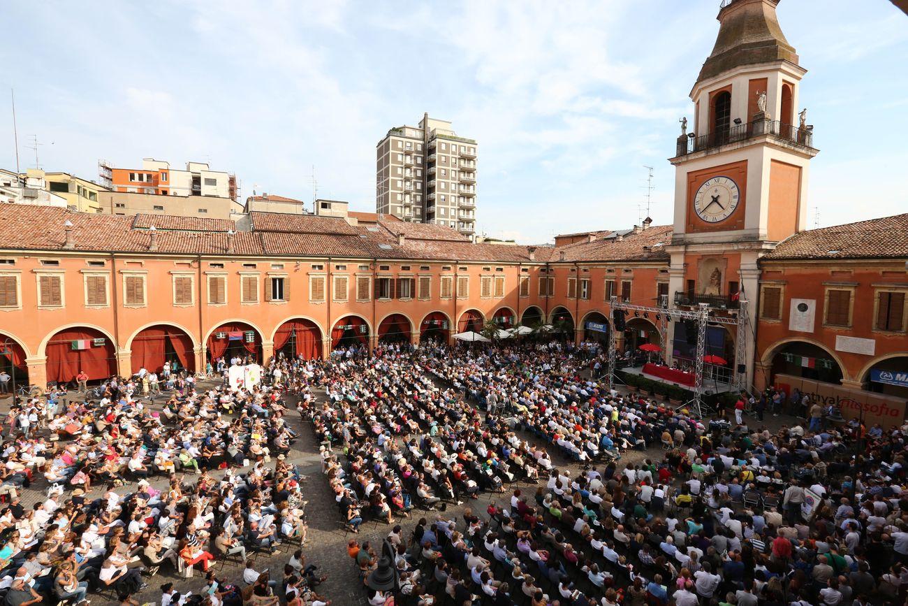 festival filosofia pubblico a Sassuolo foto E.Baracchi S.Campanini