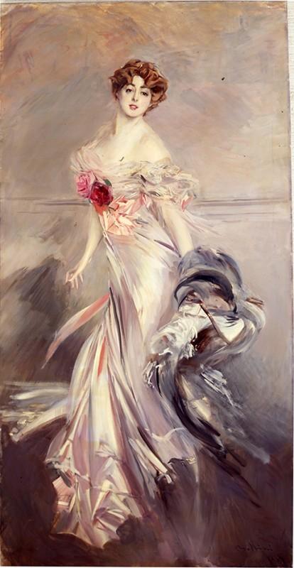 G. Boldini, Ritratto di Marthe Reigner, 1905,olio su tela.Collezione Privata