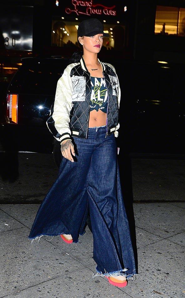 Rihanna in Marques'Almeida