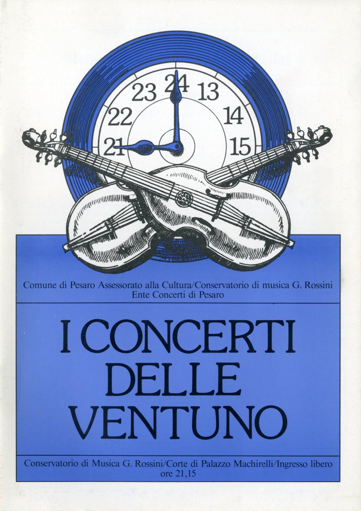 3-I Concerti delle ventuno,1988 Massimo Dolcini