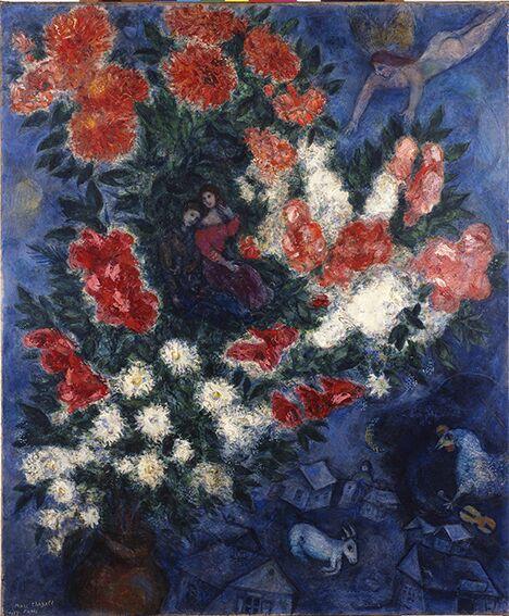 4-Chagall Gli amanti