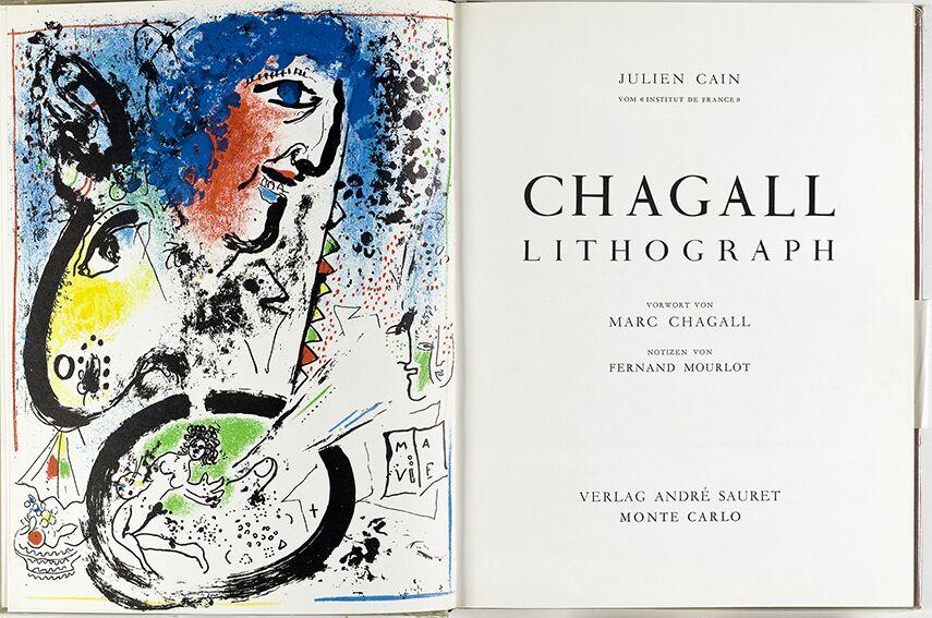 5-Chagall Litograph di J.Cain