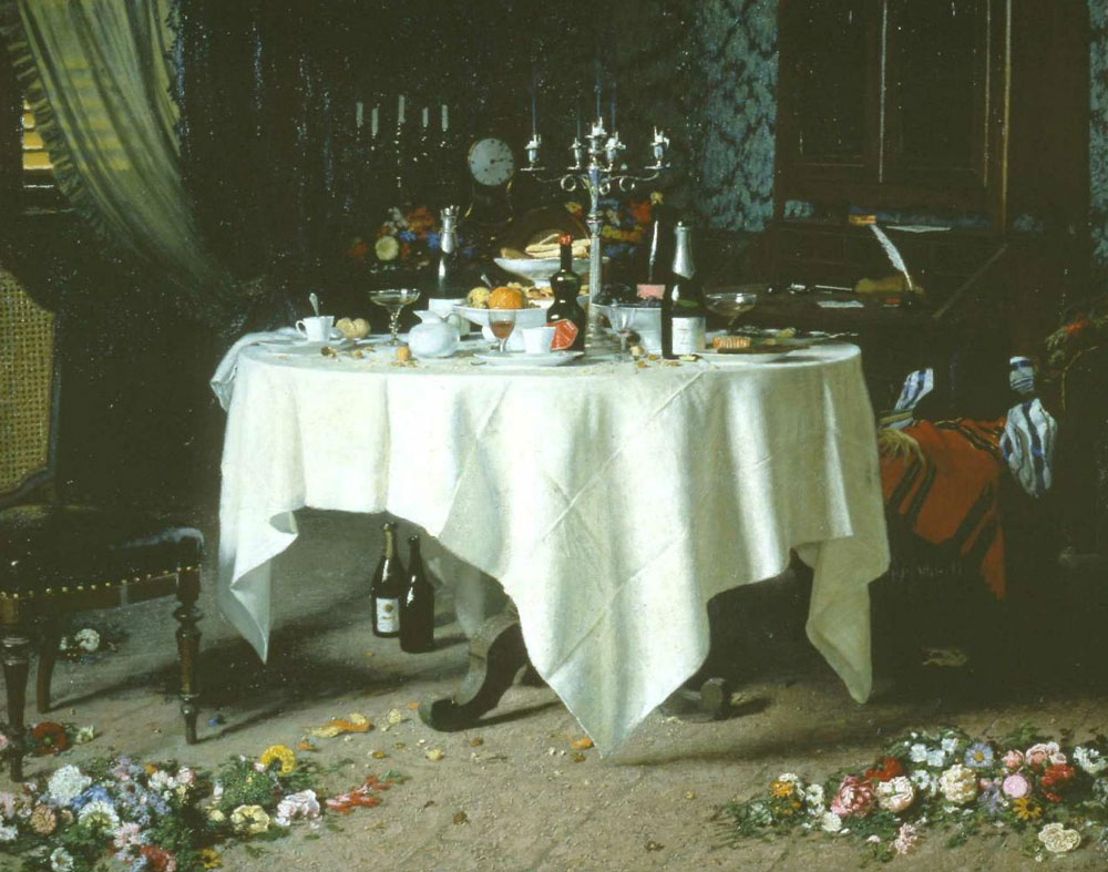 Arts&Foods-Angelo Morbelli , (Alessandria, 1853 - Milano, 1919), Asfissia!, 1884, olio su tela, 159 x 199,5 cm, Fondazione Guido ed Ettore De Fornaris
