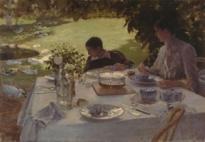 Arts&Foods-Giuseppe De Nittis, Colazione in giardino, 1884, Pinacoteca Comunale Giuseppe De Nittis, Barletta