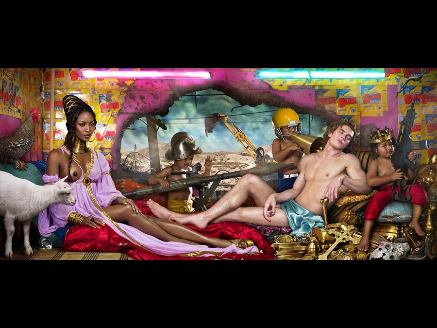 David LaChapelle, Rape of Africa, 2009