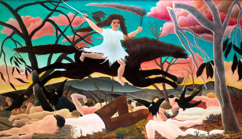Henri Rousseau, La Guerre-La chevauchée de la Discorde La Guerra