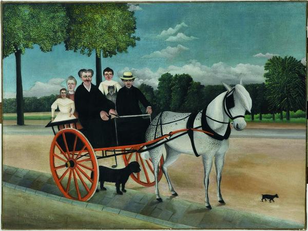 Henri Rousseau, La carriole du Père Junier Il biroccino di papà Junier