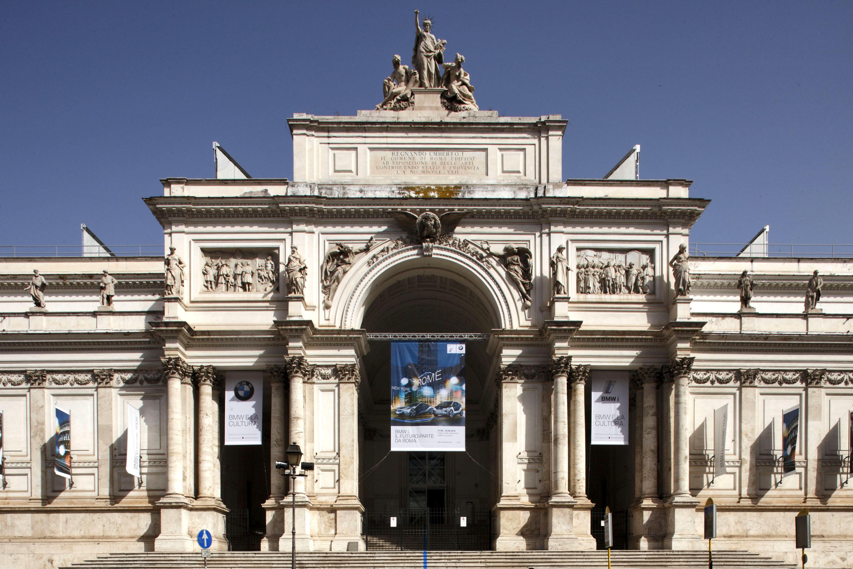 Roma 20 giugno 2012, Palazzo delle Esposizioni BMWi. Born Electric Tour