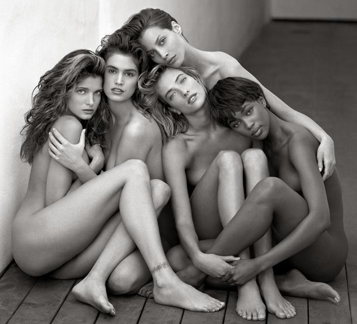 Herb-Ritts,-Stephanie,-Cindy,-Cristy,-Tatjana,-Naomi,-Hollywood-1989--®-Herb-Ritts-Foundation