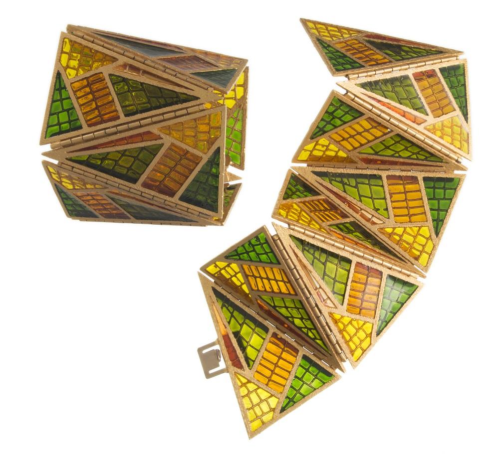 3-gianni-de-liguoro-per-fausto-sarli-bracciali-smalto-effetto-cattedrale-su-metallo-dorato-anni-80-foto-andras-bossi