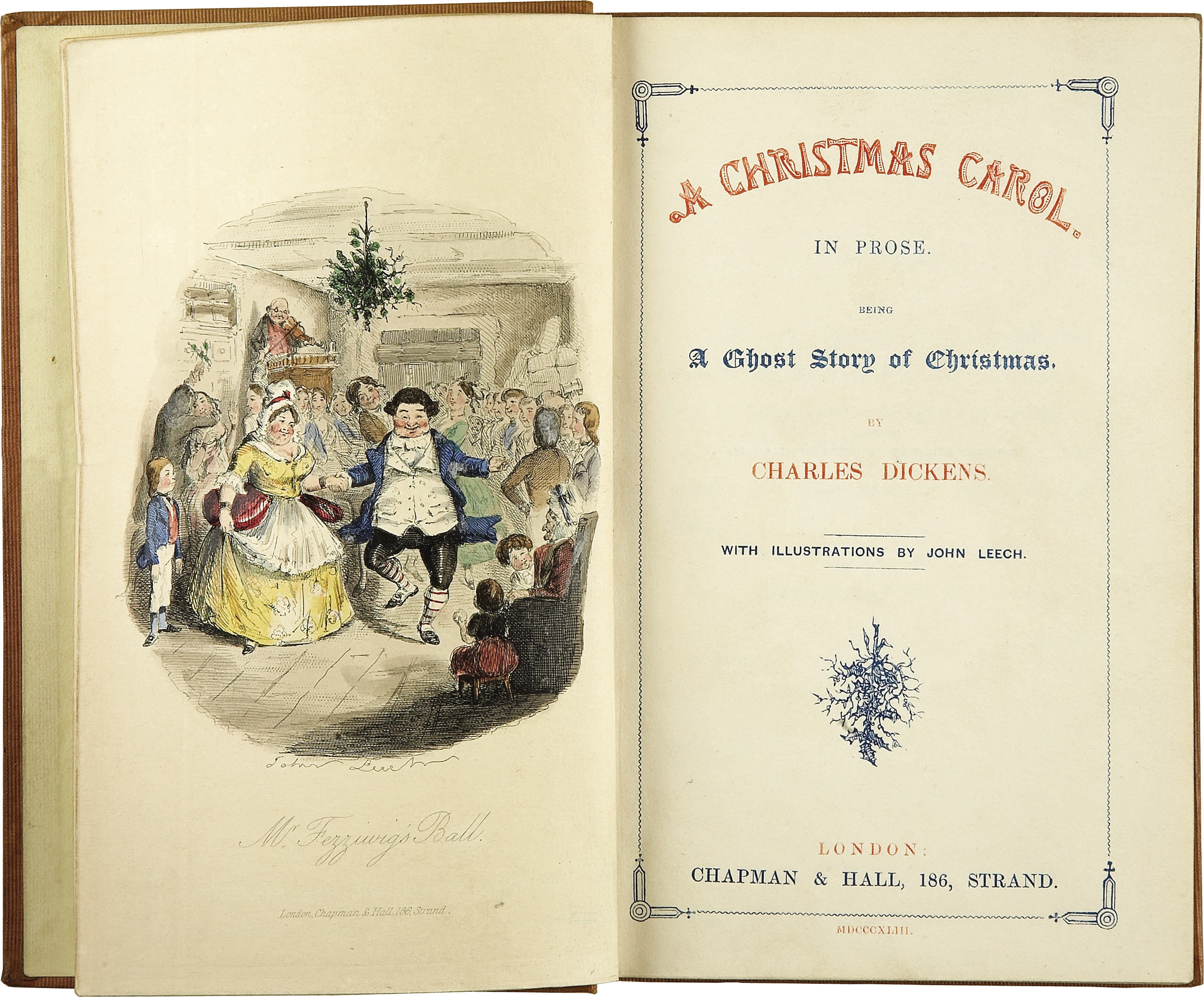4-charles-dickens-a-christmas-caroltitle-page-first-edition1843