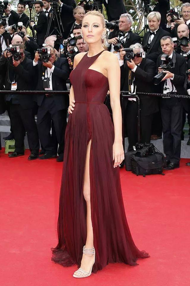 Vestiti Eleganti Gucci.Blake Lively Cannes 2014 Abito Gucci Fashion Beginners