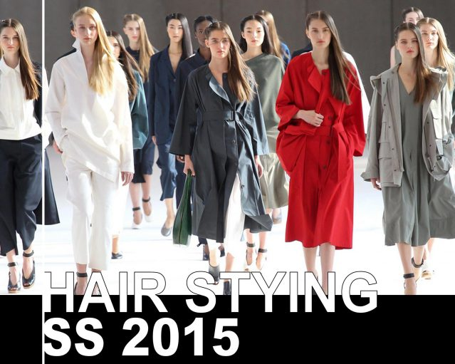 Hair styling SS 2015: 5 stili per voi!