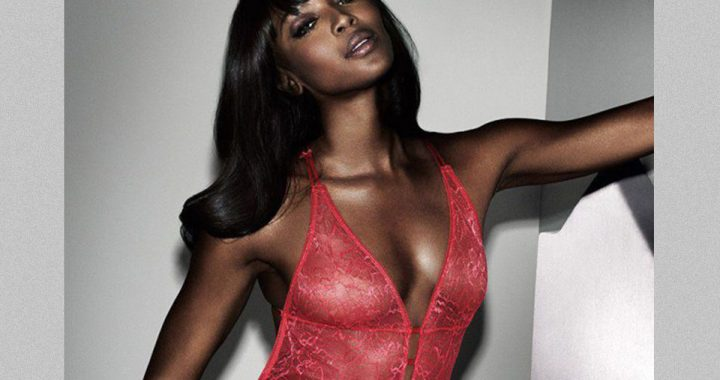 Naomi Campbell per Yamamay in limited edition