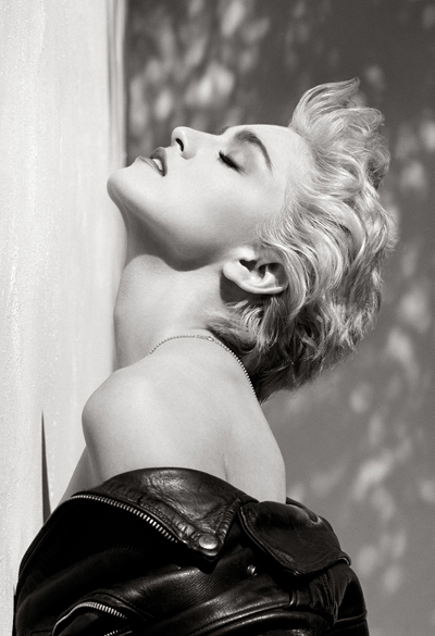 Herb-Ritts,-Madonna-(Profilo-True-Blue),-Hollywood-1986
