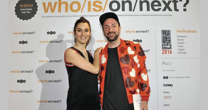 Carlo Volpi, fashion designer il vincitore di WHO IS ON NEXT?