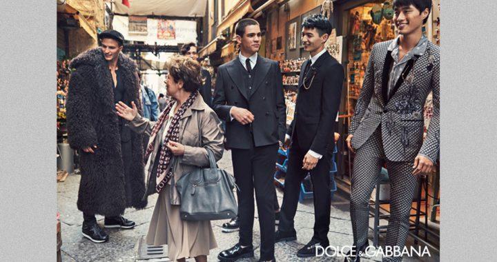 Dolce & Gabbana a Napoli con una fiaba reportage