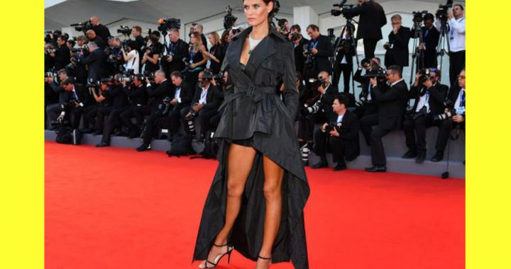 Bianca Balti sul red carpet di Venezia 73 in JPG per OVS