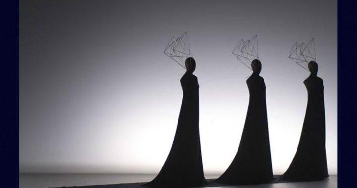 Frida Parmeggiani, i suoi costumi teatrali in Figurazioni Tessili