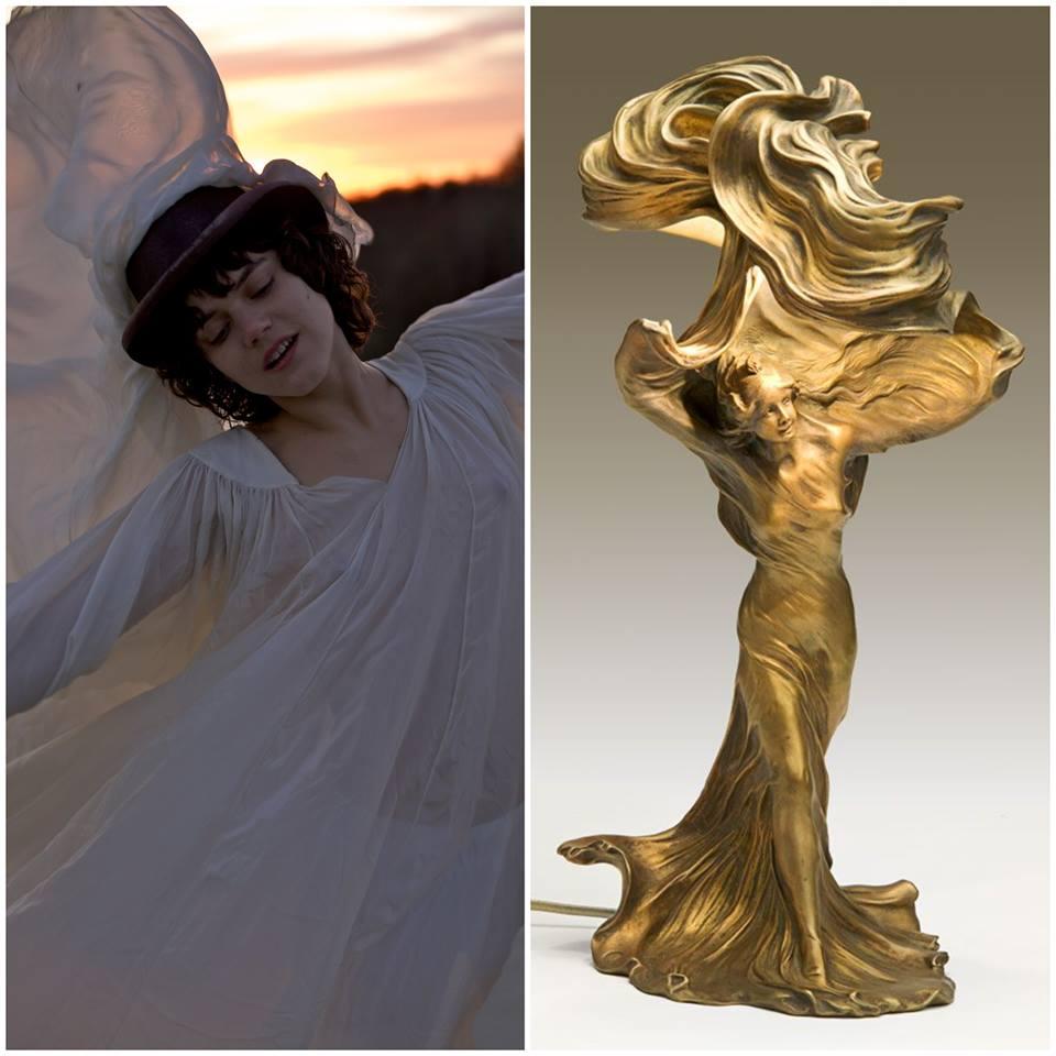 Soko è Loïe Fuller la danzatrice nel film Io danzerò