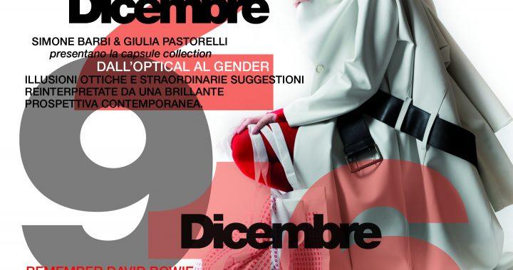 """Benza Glamour: """"Dall'Optical al Gender"""" di Simone Barbi & Giulia Pastorelli"""