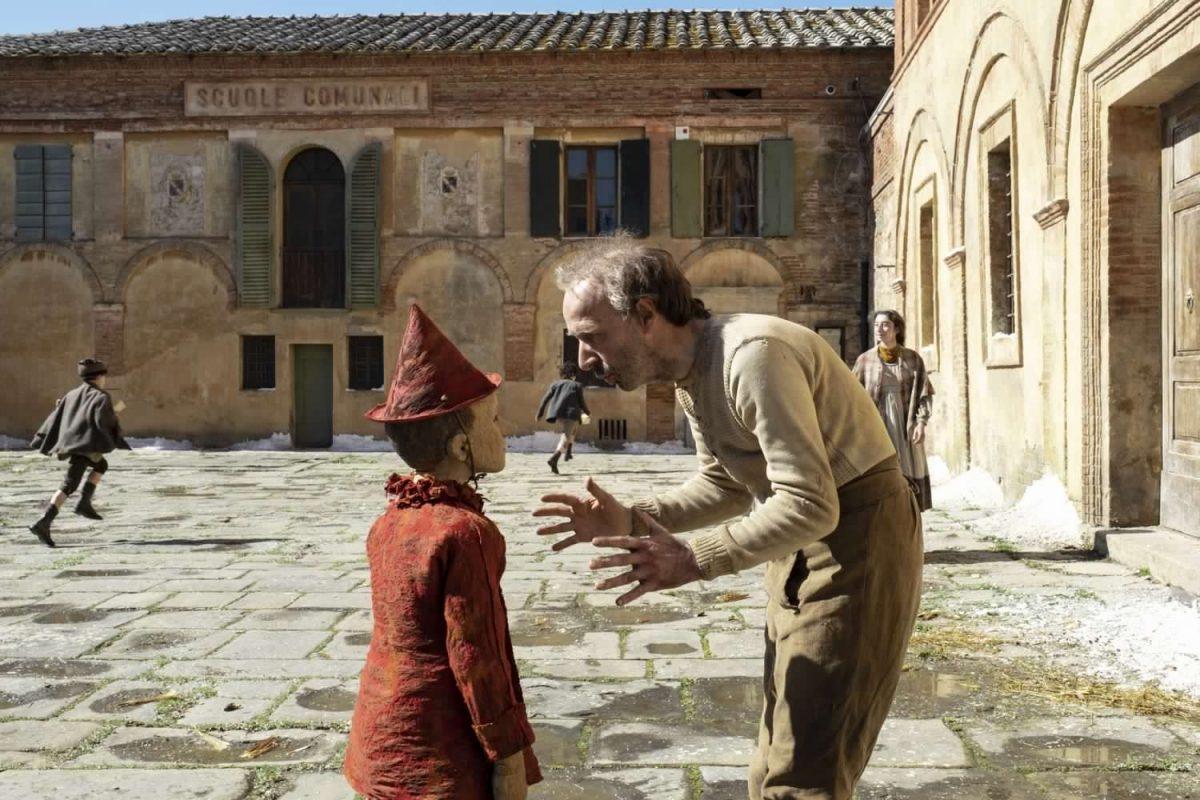 Pinocchio nel film di Matteo Garrone